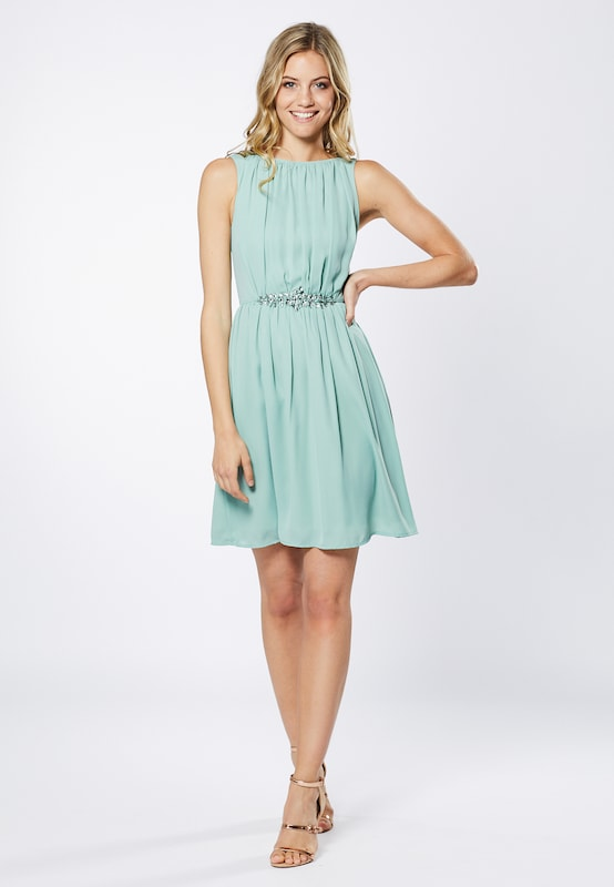 Young Couture by BARBARA SCHWARZER Kleid in mint: Frontalansicht