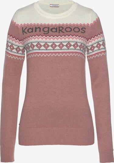 KangaROOS Pullover in beige / altrosa, Produktansicht