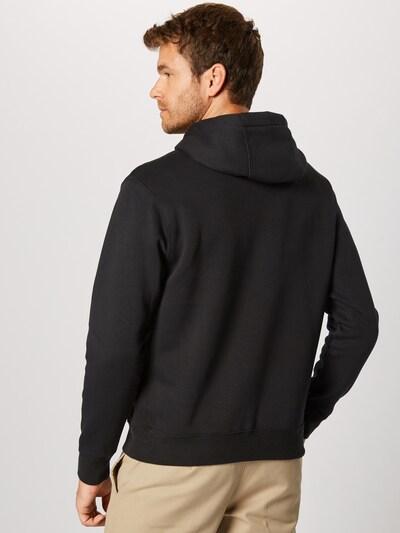 Nike Sportswear Sweatshirt 'Club' in de kleur Zwart: Achteraanzicht