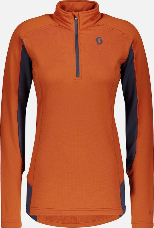 SCOTT Funktionsshirt 'Defined Light' in basaltgrau / dunkelorange, Produktansicht