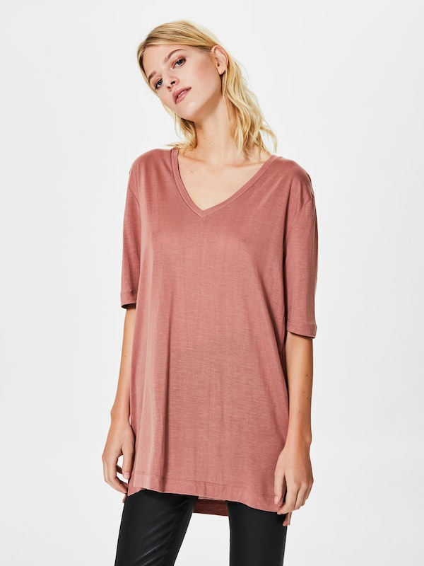 SELECTED FEMME Lyocell-T-Shirt
