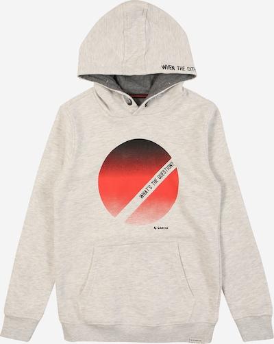 GARCIA Sweatshirt in grau / rot, Produktansicht