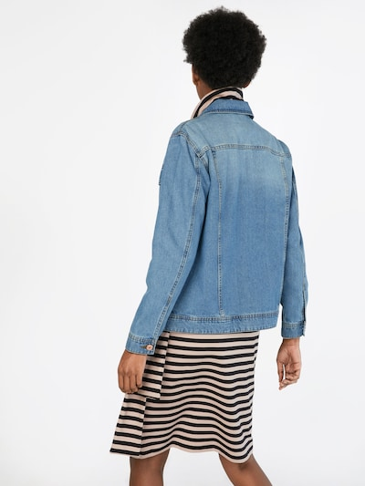 Noisy may Jeansjacke in blue denim: Rückansicht
