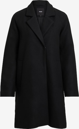 OBJECT Mantel 'ZAMORA COAT 104' in schwarz: Frontalansicht
