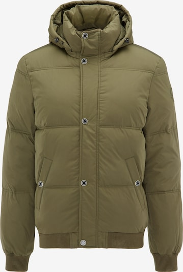 MO Winterjacke in oliv: Frontalansicht