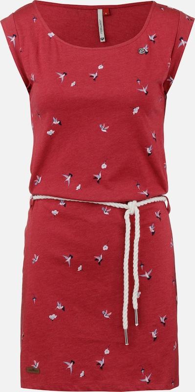 Ragwear Kleid 'Tammy' in mischfarben   feuerrot  Großer Rabatt