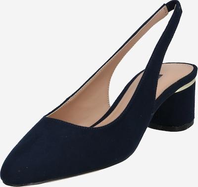 Dorothy Perkins Cipele s potpeticom i otvorenom petom 'Dollar Court' u plava, Pregled proizvoda