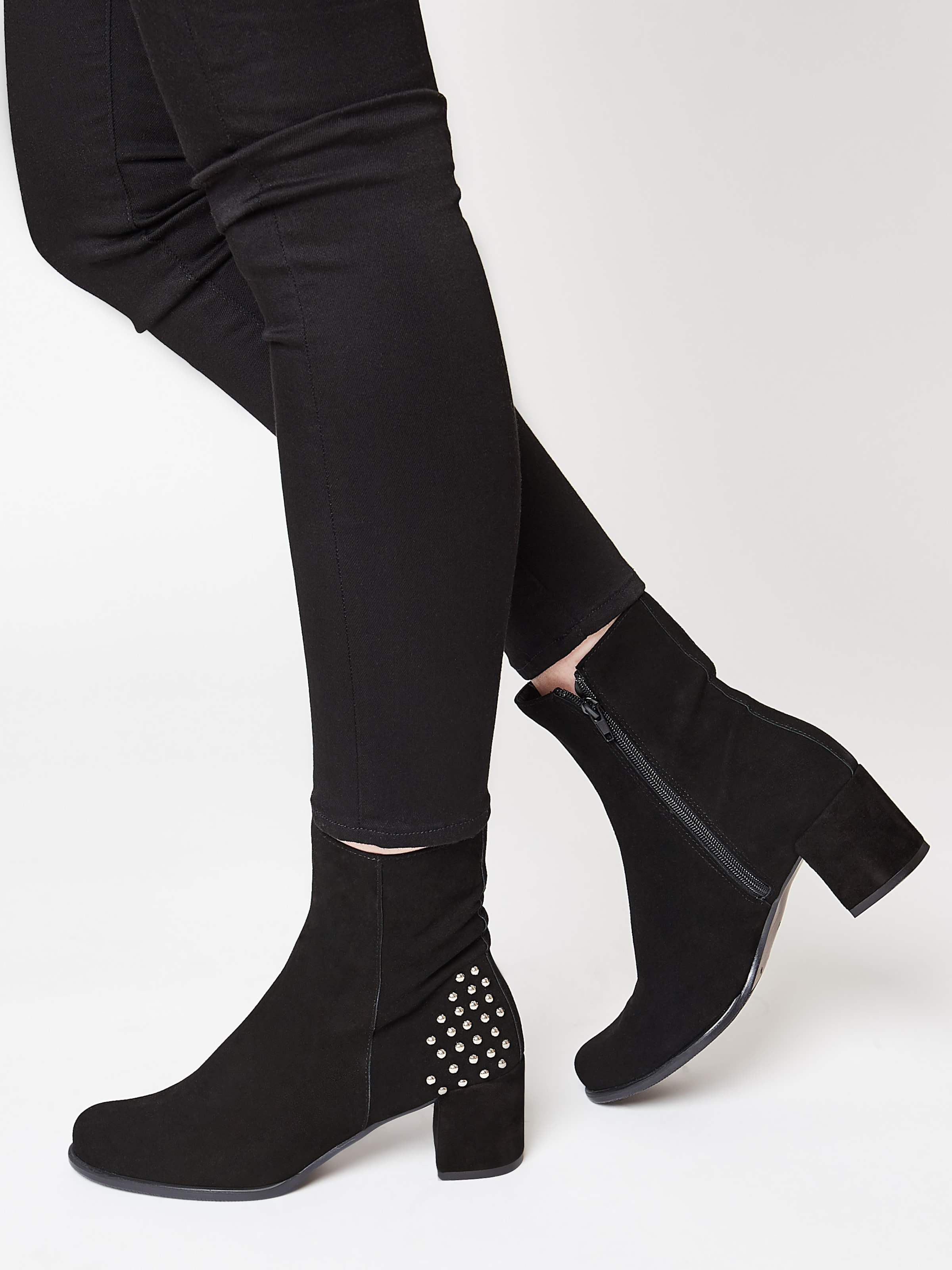 In Faina Ankle Ankle Faina Boots In Schwarz Faina Boots Schwarz H2IYWED9