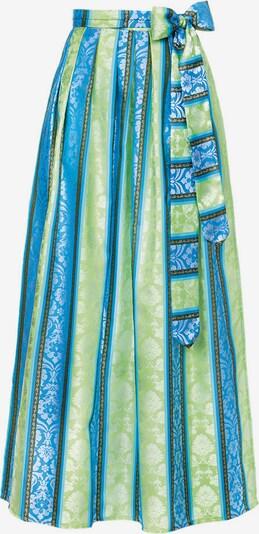 STOCKERPOINT Dirndlschürze in blau / türkis / grün, Produktansicht