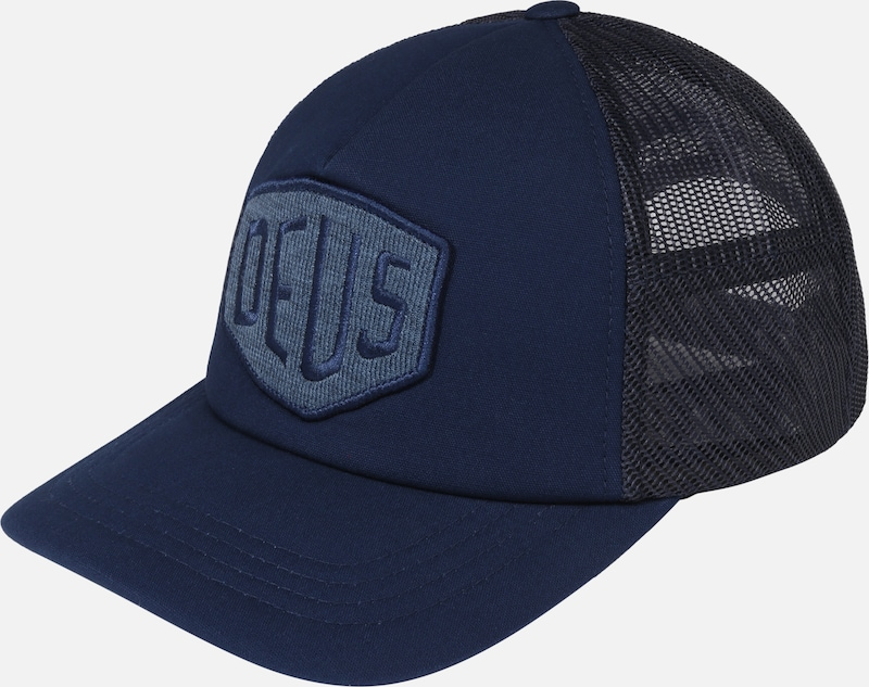 DEUS EX MACHINA Cap 'Terry Shield Trucker' in blau, Produktansicht
