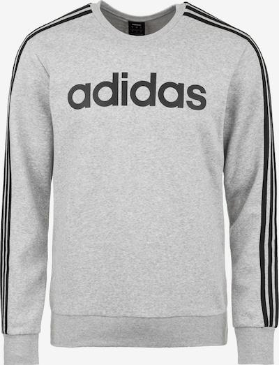 ADIDAS PERFORMANCE Sportsweatshirt 'E 3S CREW FL' in de kleur Grijs gemêleerd / Zwart, Productweergave