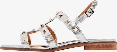 RISA Sandale in silber, Produktansicht