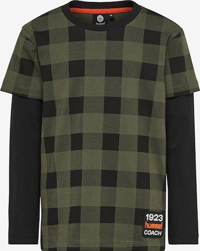 Hummel Shirt 'Chris' in oliv / schwarz, Produktansicht