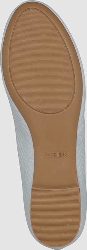 CALL IT SPRING   getragene Ballerina 'ULADOLLAN' Schuhe Gut getragene   Schuhe d8503c