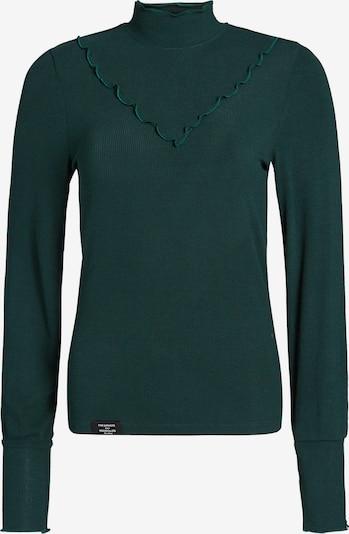 khujo Longsleeve in smaragd, Produktansicht