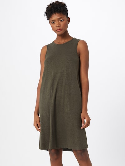 G-Star RAW Damen - Kleider 'Tank dress a-line r wmn sls' in grün, Modelansicht