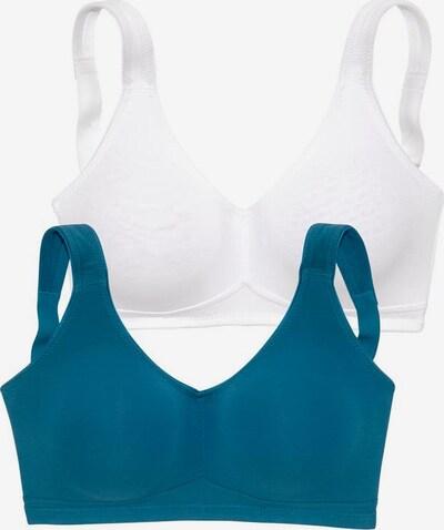 PETITE FLEUR BH in blau / weiß, Produktansicht