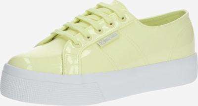 SUPERGA Sneaker in pastellgelb, Produktansicht