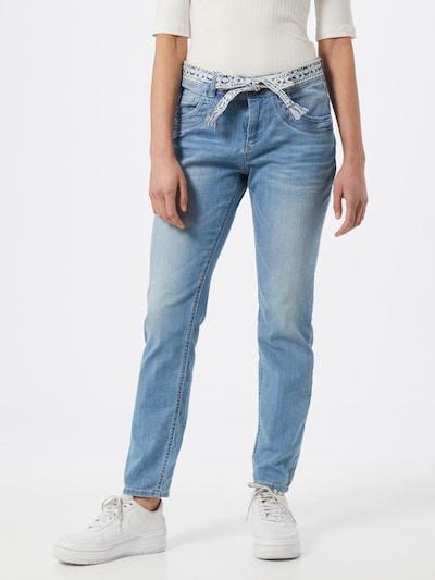 TOM TAILOR Jeans in blau, Modelansicht