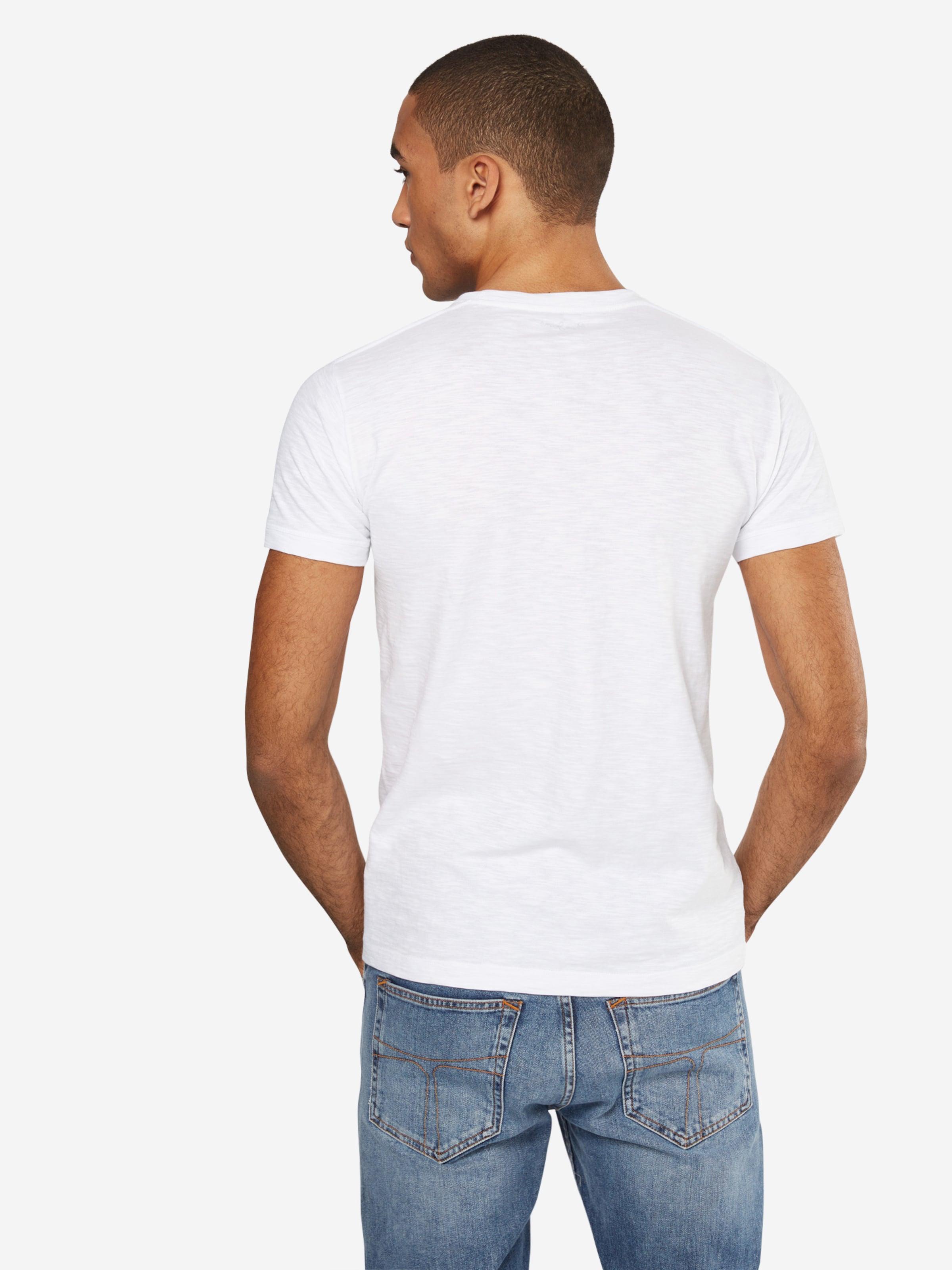 'amersham' Shirt Wit Pepe GeelZwart Jeans In tQCshrd