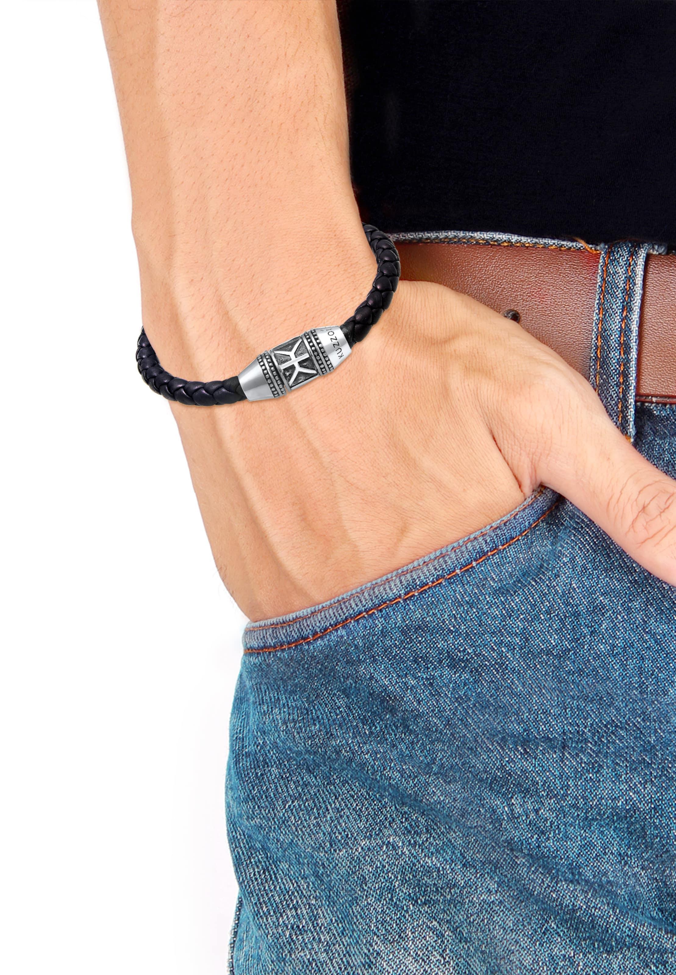 In SchwarzSilber In Kuzzoi Kuzzoi Armband Kuzzoi SchwarzSilber Armband Armband lwkZTOPXiu