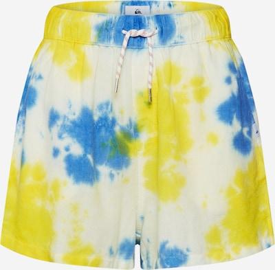 Kelnės 'ELASTILINSHT' iš QUIKSILVER , spalva - mėlyna / geltona, Prekių apžvalga
