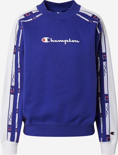 Champion Authentic Athletic Apparel Sweater majica u plava / crvena / bijela, Pregled proizvoda