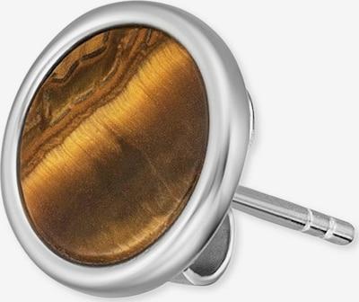 Engelsrufer Ohrringe in braun / silber, Produktansicht