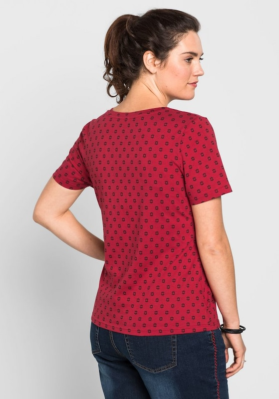 sheego casual T-Shirt