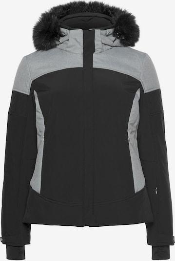 KILLTEC Skijacke 'CAMIRA' in grau / schwarz, Produktansicht