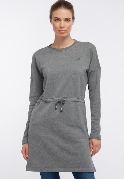 DREIMASTER Kleid in grau, Modelansicht