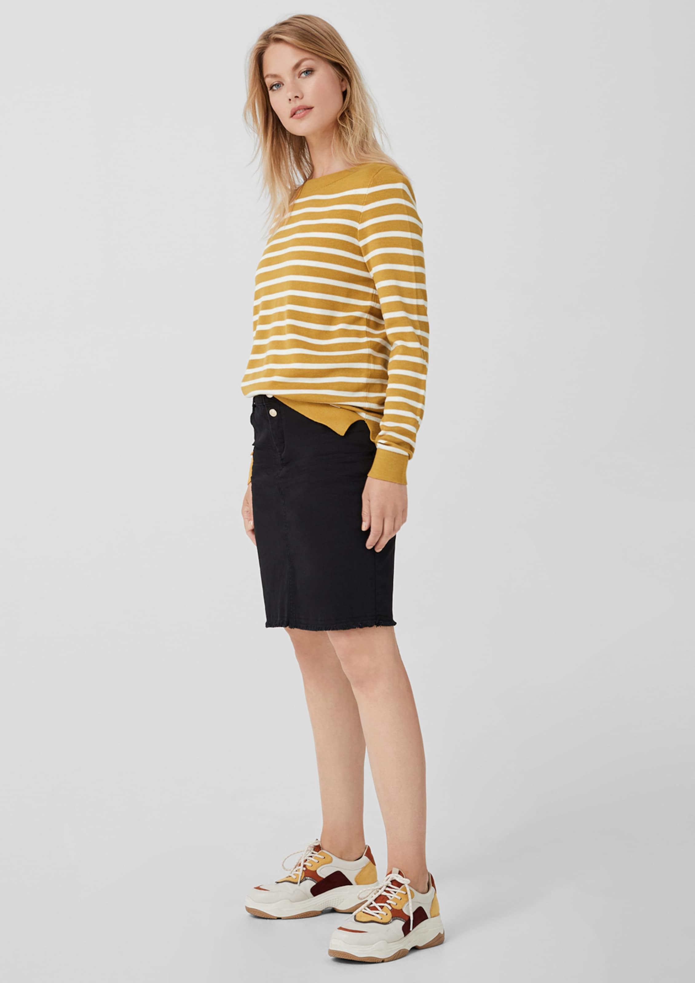 oliver S In Pullover oliver GelbWeiß S Pullover k8wnX0OP