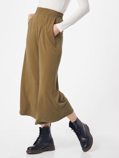 khaki Urban Classics Nadrág, Modell nézet