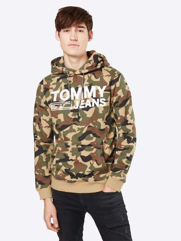 Tommy Jeans Hoodie Tjm Camo Hd Hknit L/s 34