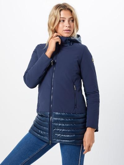Colmar Manteau d'hiver en bleu marine, Vue avec modèle