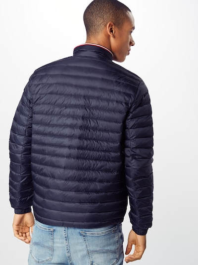 TOMMY HILFIGER Jacke 'CORE PACKABLE DOWN JACKET' in navy: Rückansicht