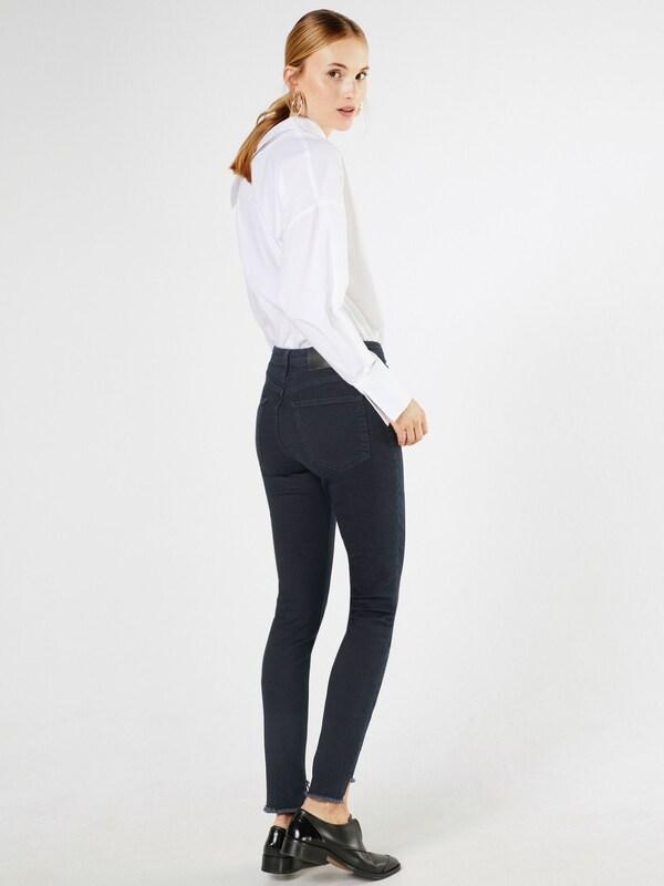 SELECTED FEMME SFLEA EXTRA HR SLIM THUNDER Skinny Jeans