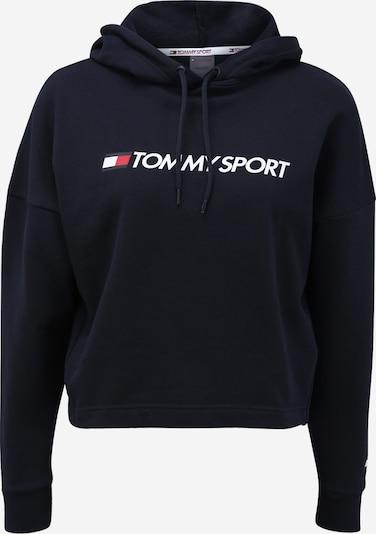 Tommy Sport Bluzka sportowa w kolorze niebieska noc / białym, Podgląd produktu