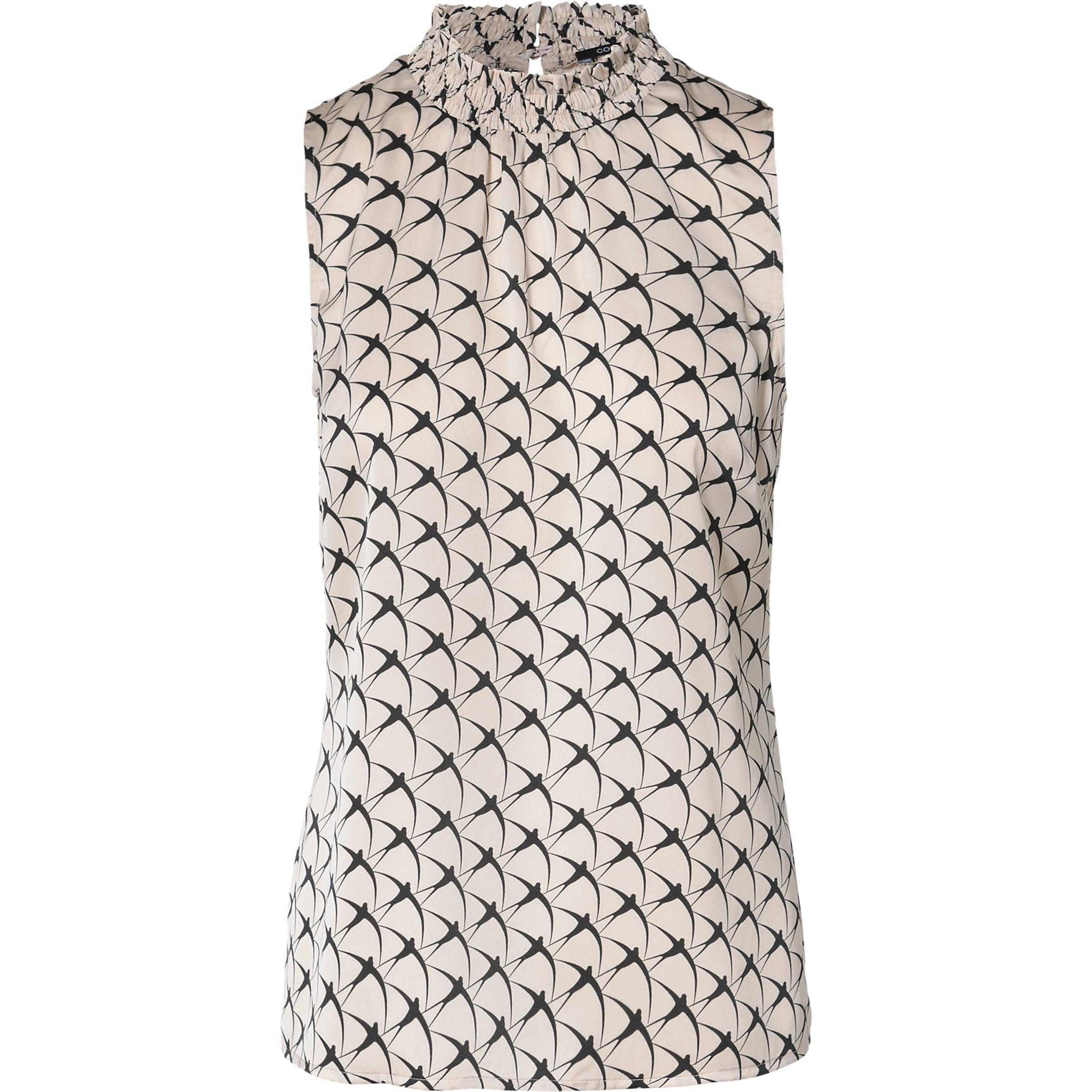 COMMA Ärmellose Bluse mit floralem Print Modisch 7vbiJ1