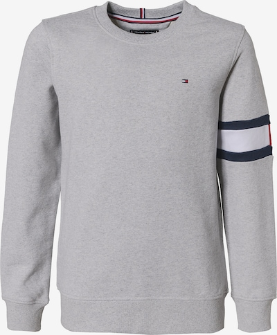 TOMMY HILFIGER Sweatshirt 'FLAG' in grau, Produktansicht