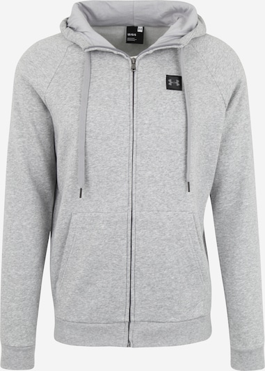 UNDER ARMOUR Sweatjacke 'Rival Fz' in grau, Produktansicht