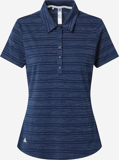 adidas Golf Shirt in dunkelblau / weiß, Produktansicht