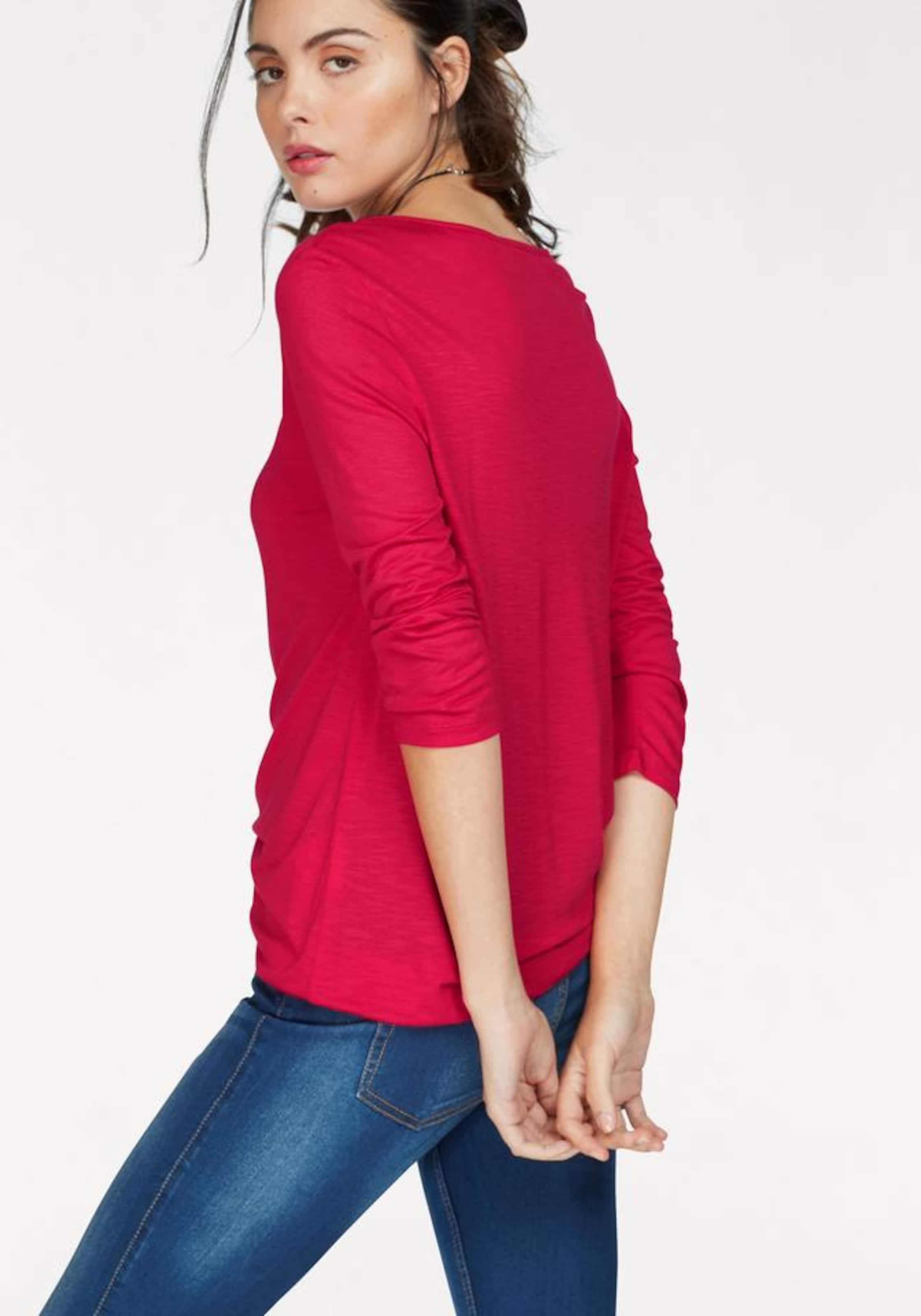 Oliver Shirt 3 4 s LABEL Arm RED s Oliver wqvEOZ