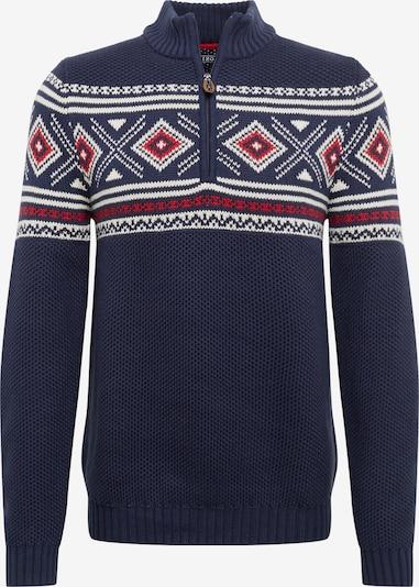 IZOD Pullover in dunkelblau / rot / weiß, Produktansicht