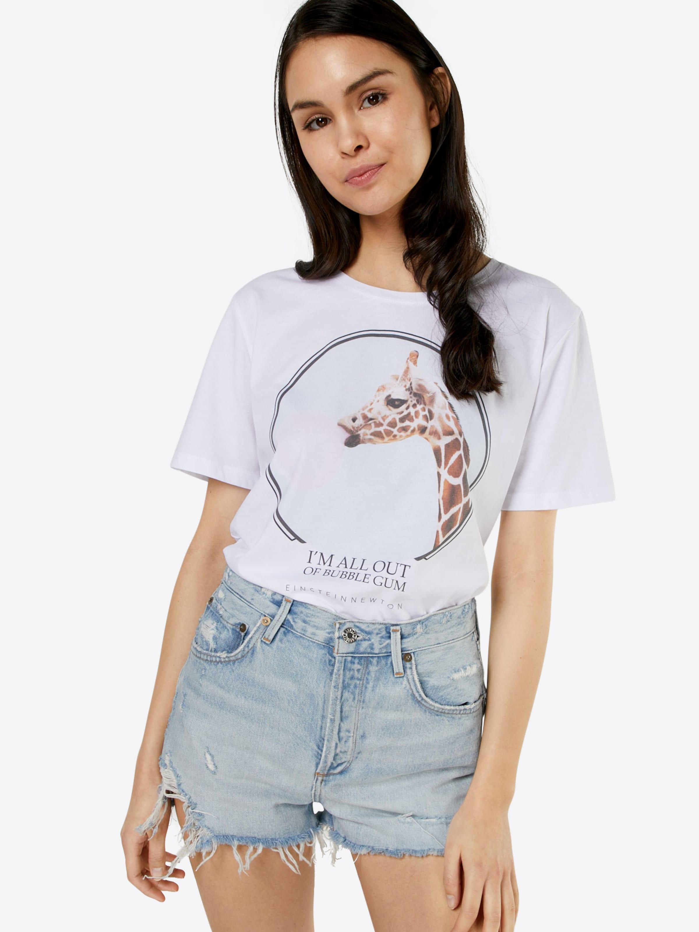 EINSTEIN & NEWTON T-Shirt 'Bubble Paxton' Billig Verkauf Für Schön Freies Verschiffen Fälschung Steckdose Freies Verschiffen Authentische LjL7R