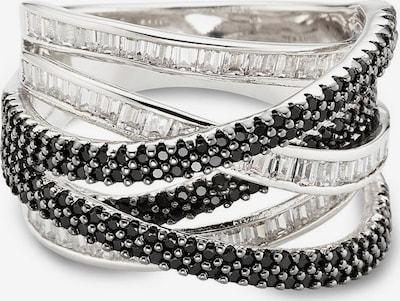 BUFFALO Ring in schwarz / silber, Produktansicht