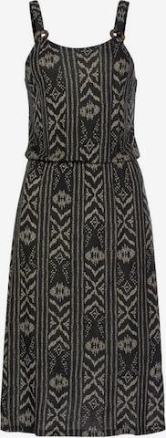 LASCANA Beach dress in Black