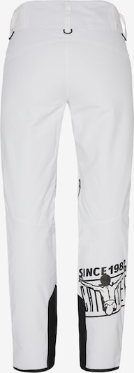 CHIEMSEE Skihose in weiß: Rückansicht
