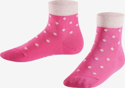 FALKE Socken 'Glitter Dot' in pink / puder, Produktansicht
