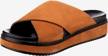 SHABBIES AMSTERDAM Pantolette in Orange